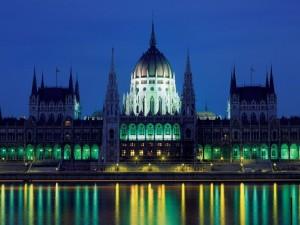 匈牙利布達佩斯的國會大廈